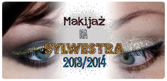 Makijaż na sylwestra 2013/2014 – 2 propozycje