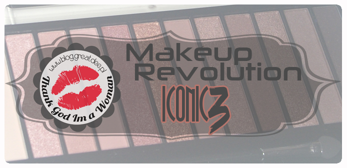 MakeUp Revolution – Iconic3 to paleta idealna?